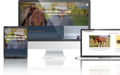 Welcome to the New Josh Nichol Website!